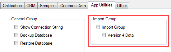 Unhide V4 Import Button